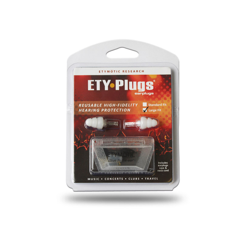 ETY Plugs by Etymotics, Musician Earplugs